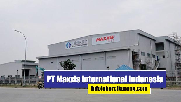 PT. Maxxis International Indonesia Cikarang