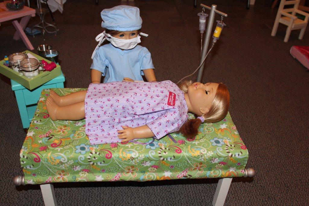 Karen Mom Of Three S Craft Blog Brandy S Doll Hospital
