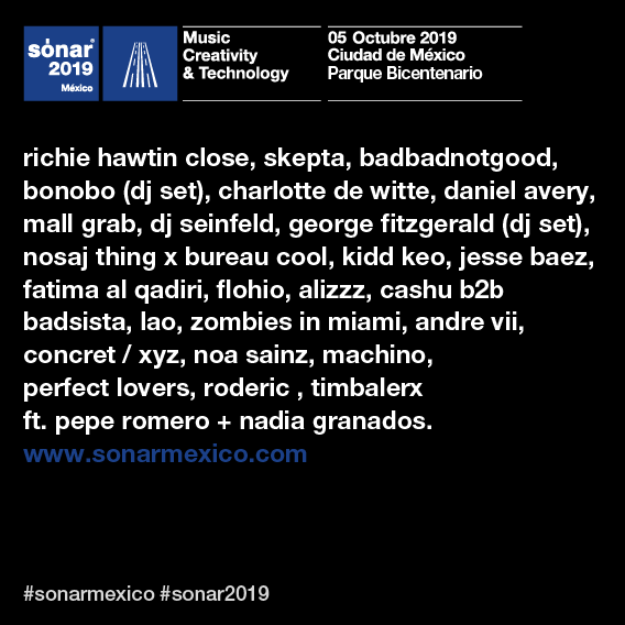Sónar México 2019