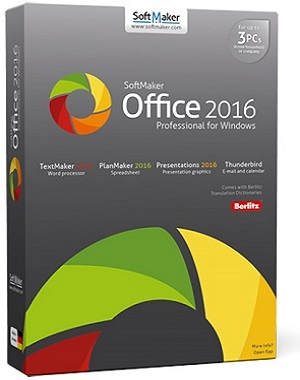 SoftMaker Office Professional 2016 rev 766.0331 poster box cover