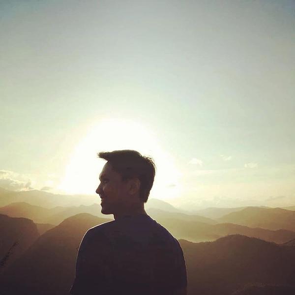 sunrise at Mt. Parawagan