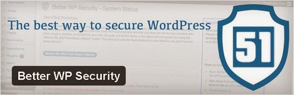 Better WP Security plugin for WordPress