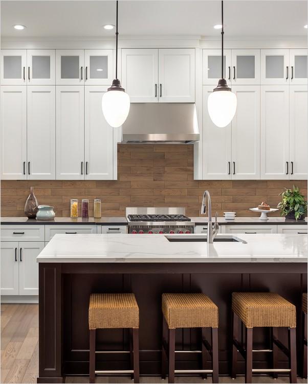 Kitchen Backsplash Ideas With White Cabinets Home Interior Exterior Decor Design Ideas