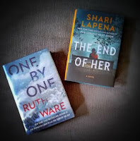 one by one ruth ware the end of her shari lapena