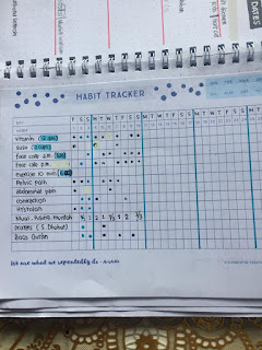 printable habit tracker bullet journal indonesia