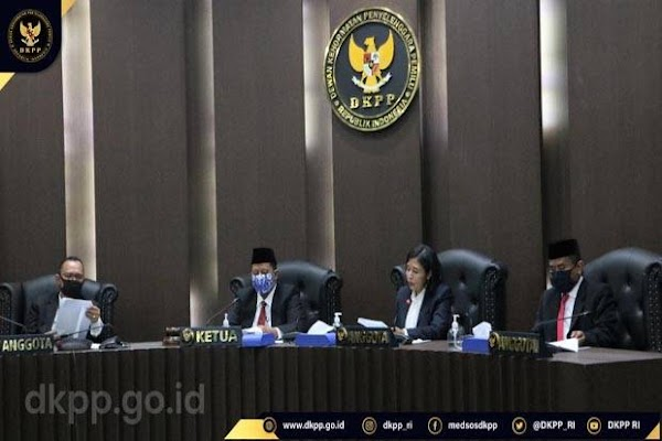 DKPP Bisa Berhentikan Penyelenggara Pemilu yang Lalai Jalankan Tugas
