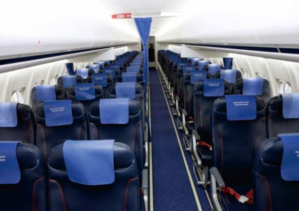 Fokker 70 interior