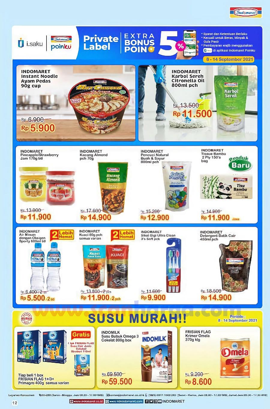 Katalog Indomaret Promo Terbaru 8 - 14 September 2021 12