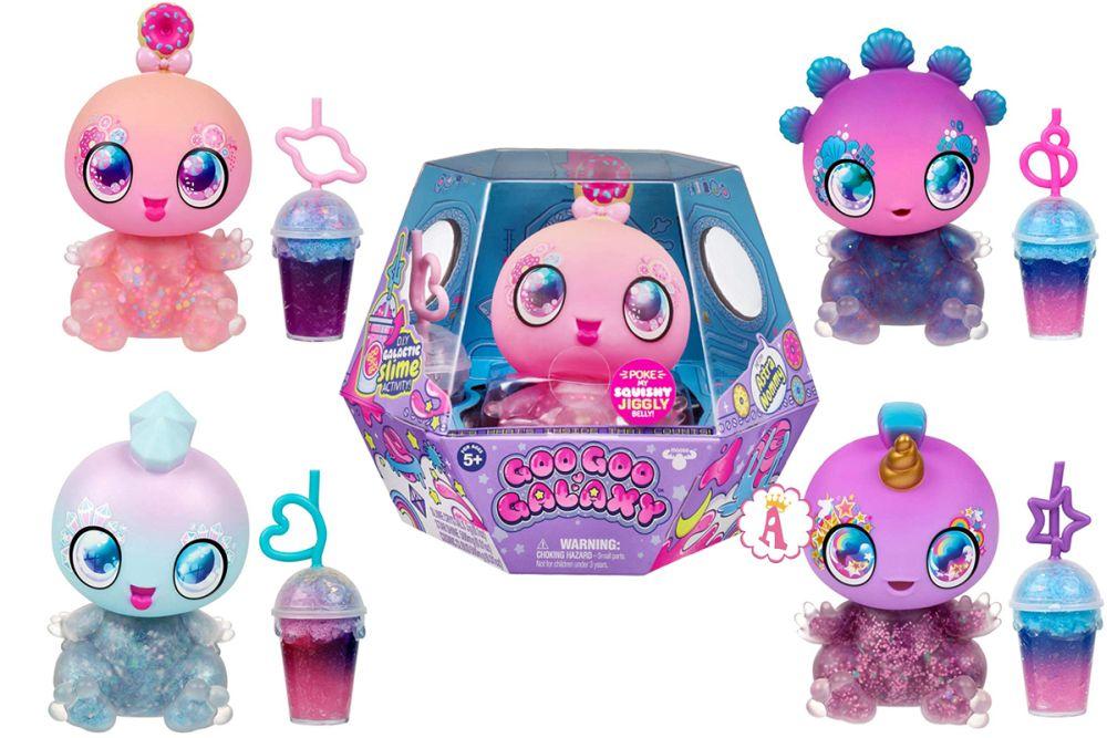 Пришельцы игрушки слайм Goo Goo Galaxy новинка 2019