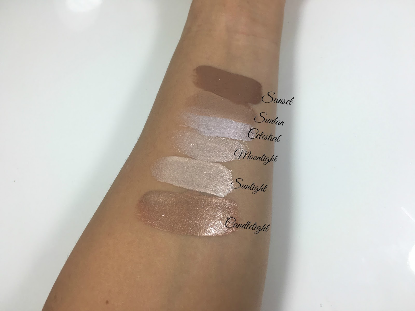 Custom Enhancer Drops Swatches