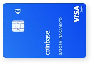 بطاقة CoinBase