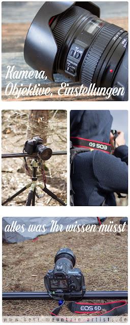 Kamera Objektive Einstellungen - Einstieg in die DSLR Fotografie Tutorial