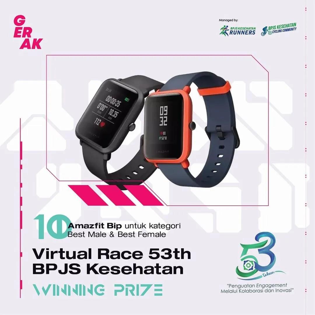 Prize � Virtual Race 53th BPJS Kesehatan • 2021