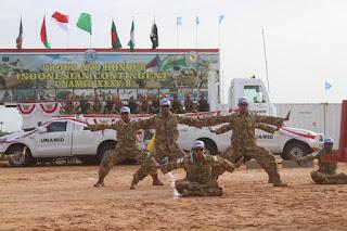 Force Commander Unamid Bangga Terhadap Prestasi Pasukan Indonesia