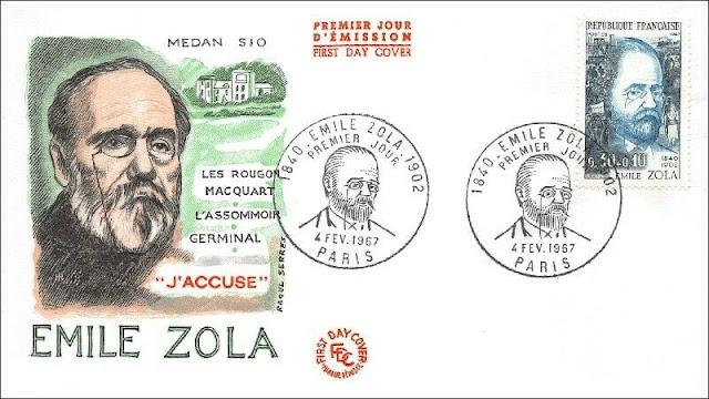 Emile Zola - L'Assommoir, Germinal, J'Beschuldigt - Paris