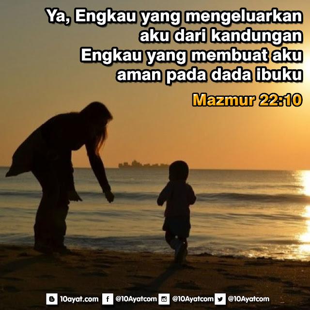Mazmur 22:10