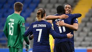 ملخص واهداف مباراة فرنسا وكازاخستان (2-0) تصفيات كأس العالم
