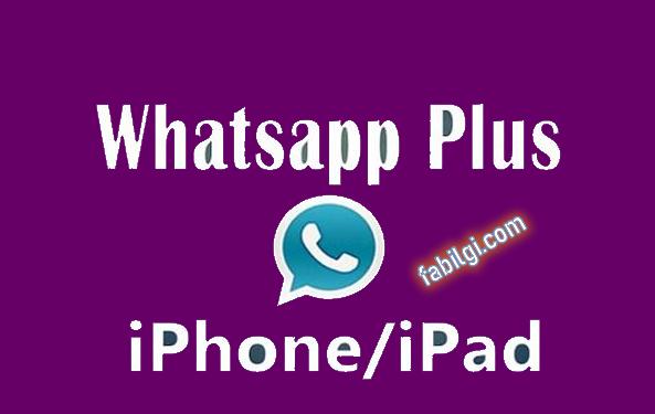 Iphone için Whatsapp Plus Uygulaması İndir Watusi 2021 Yeni