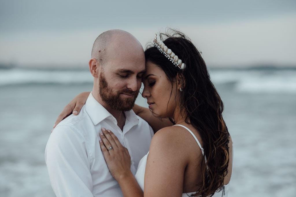 LOVE: NIKOLA + DANIEL   CHILLED CABARITA BEACH WEDDING NSW