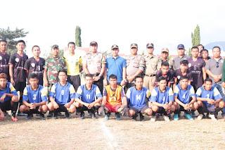 HUT Bhayangkara ke-73, Polres Lombok Utara Adakan Turnamen Kapolres Lotara Cup