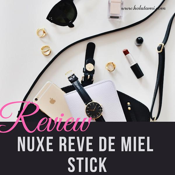 Review Nuxe Reve de Miel Stick