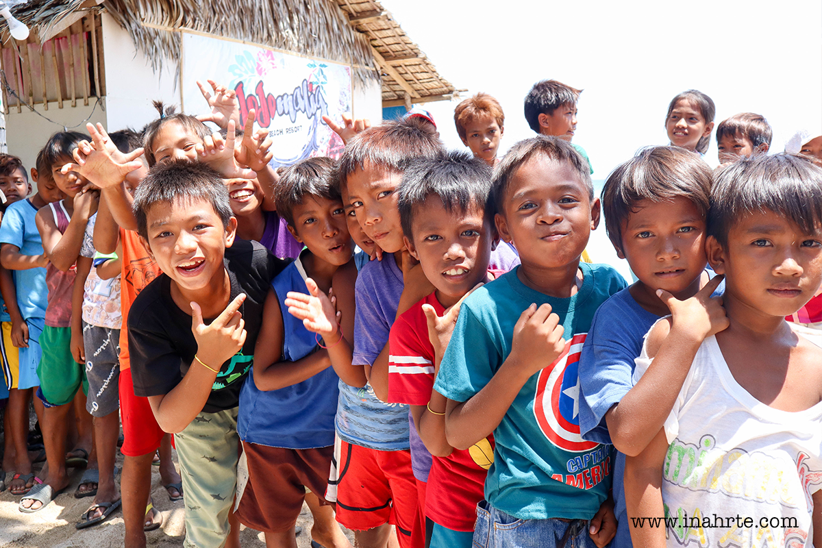 happy smiling kids of Quezon Province | INAHRTE
