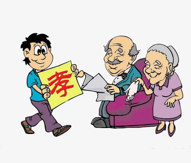 فضل الوالدين و الأجداد على الأبناء