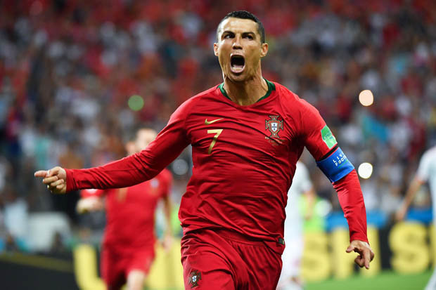 Cristiano Ronaldo scored a hat-trick as Portugal and Spain play out a thrilling 3-3