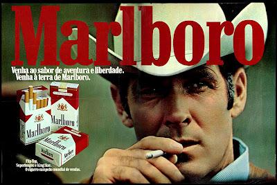 Malboro cigarettes in the 70s. propaganda  cigarros Malboro - 1975; propaganda anos 70; história decada de 70; reclame anos 70; propaganda cigarros anos 70; Brazil in the 70s; Oswaldo Hernandez;