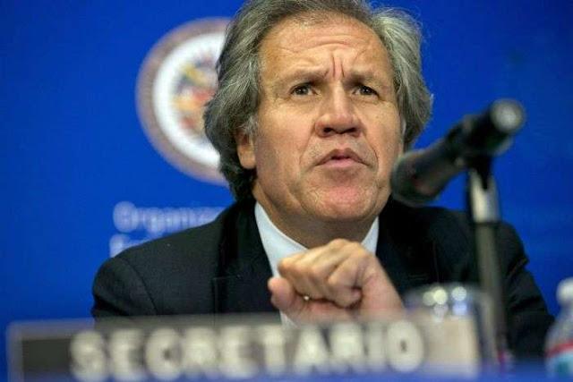 """Almagro pide sanciones sin dudas para acabar con la """"dictadura"""" de Maduro"""
