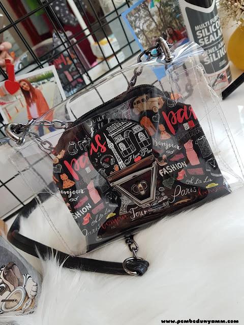 şeffaf çanta modası