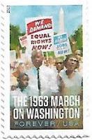 Selo Marcha sobre Washington