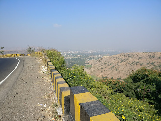 beautiful view from the top of a ghat