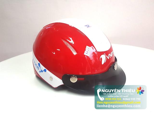 Xưởng mũ bảo hiểm quà tặng doanh nghiệp, xưởng in logo mũ bảo hiểm giá rẻ theo yêu cầu  Mũ bảo hiểm