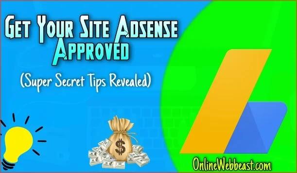 Get AdSense Approval On Blogger