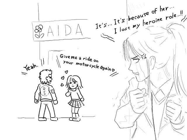 Jealous Izumi (art by @kohji_nakazawa)
