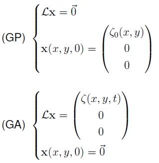 Formulaciones para Generación Pasiva y Generación Activa