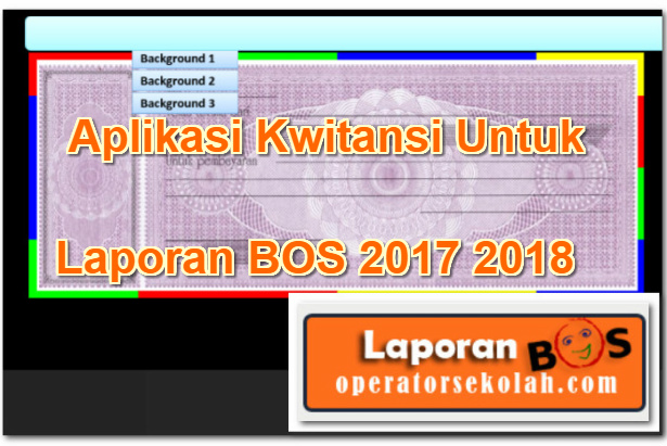 Aplikasi Kwitansi Untuk Laporan BOS 2017 2018