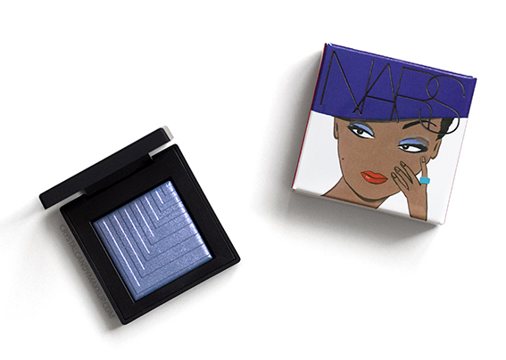 NARS Under Cover Summer Collection Dual Intensity Eyeshadow Pool Shark Review Photos
