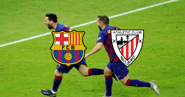 مباراة برشلونة واتلتيك بلباو كورة لايف