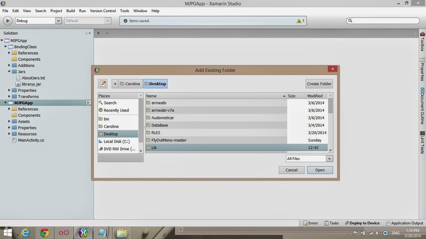 View MJPG Video Streaming in Xamarin Android — Xamarin