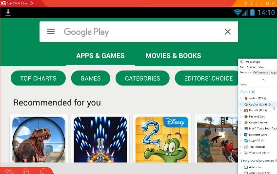 Download Droid4X - Phần mềm giả lập Android nhẹ trên máy tính b