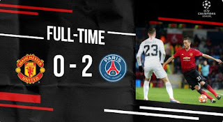 Manchester United vs PSG 0-2 Highlights