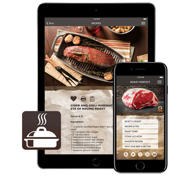 Roast Perfect app iPhone and iPad