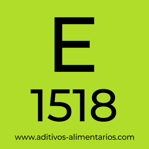 E1518 - Triacetato de Glicerilo