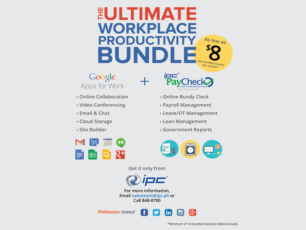 Cloud Service Bundle for Startups and SMEs Now Offered by IPC