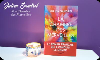 Blog PurpleRain Livre : La Chambre des merveilles - Julien Sandrel