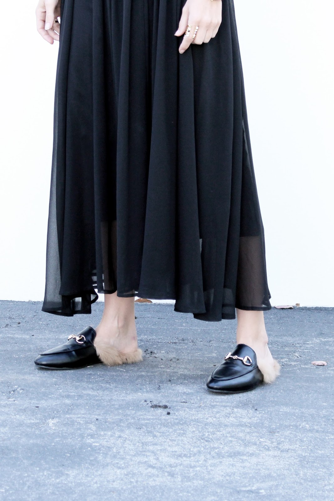 loafers and dress