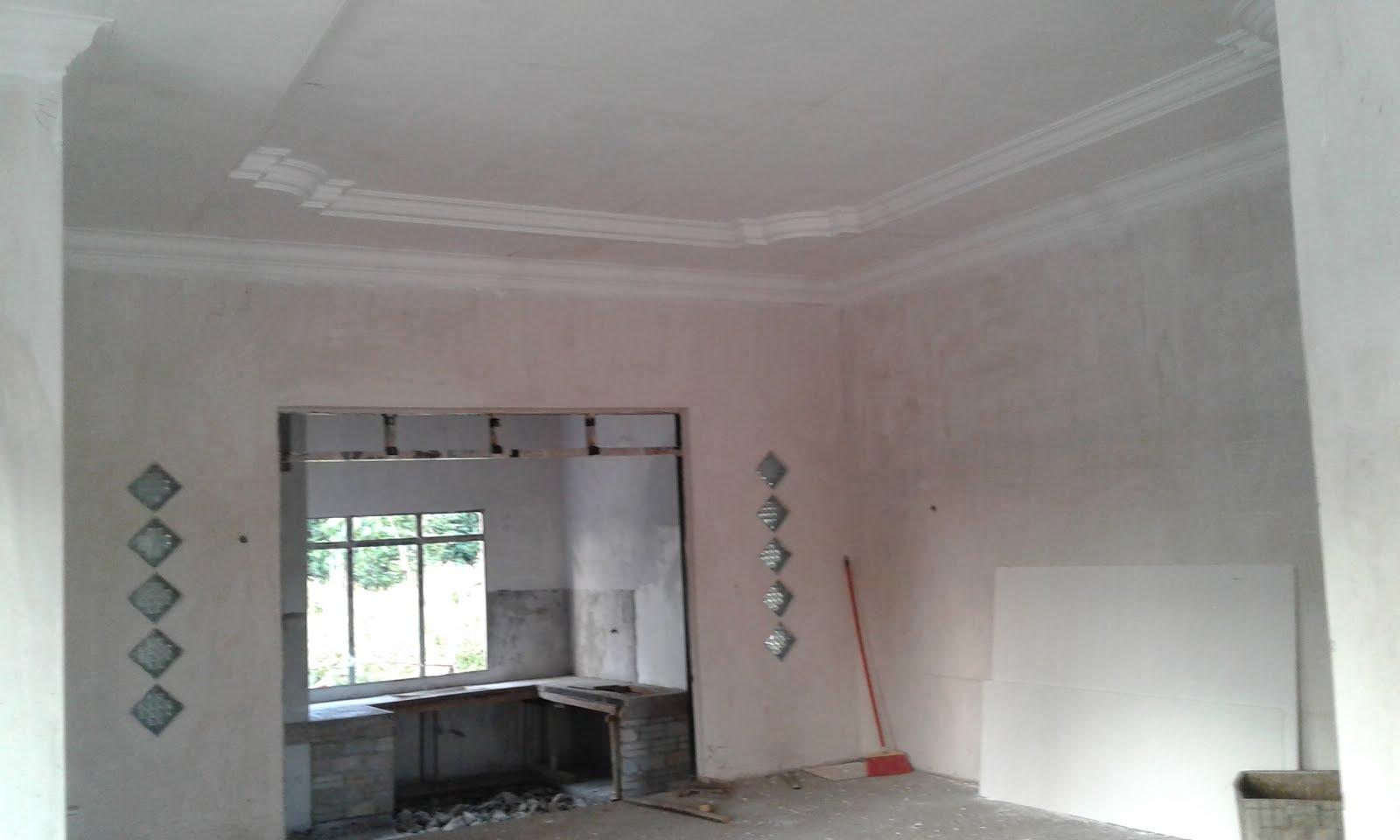 Berikut Adalah Syiling Kapur Dan Cornish Yang Dipasang Pada Ruang Tamu Kami Setelah Tawar Menawar Membayar Rm1550 Untuk Keluasan Seluas 350
