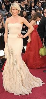 Cameron Diaz in Gucci Premiere, Oscars 2012